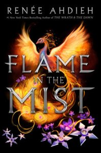 Book cover for The Flame in the Mist by Renee Ahdieh
