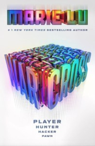 Book cover for Warcross by Marie Lu
