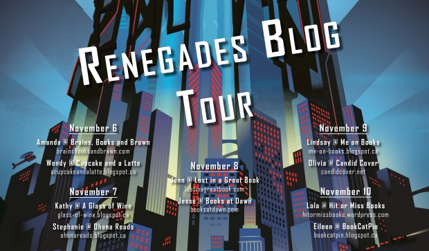 Review & Excerpt: Renegades by Marissa Meyer