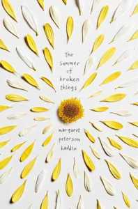 Book cover for The Summer of Broken Things by Margaret Peterson Haddix.