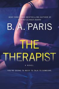 Audiobook Review: The Therapist by B.A. Paris
