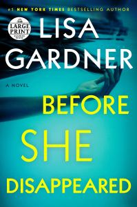 Review: Before She Disappeared by Lisa Gardner