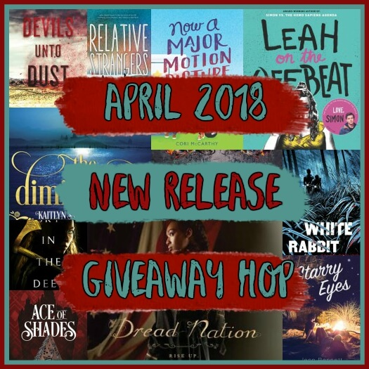 Book Giveaway Hop: April 2018 New Releases