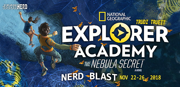 Book Blast & Giveaway: Explorer Academy: The Nebula Secret by Trudi Trueit