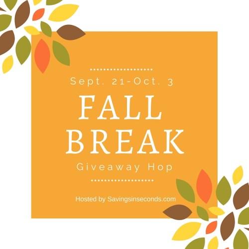 Fall Break Giveaway Hop