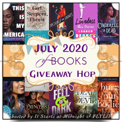 July 2020 book giveaway