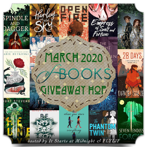 March 2020 Book Giveaway