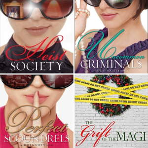 Series Review: Heist Society by Ally Carter