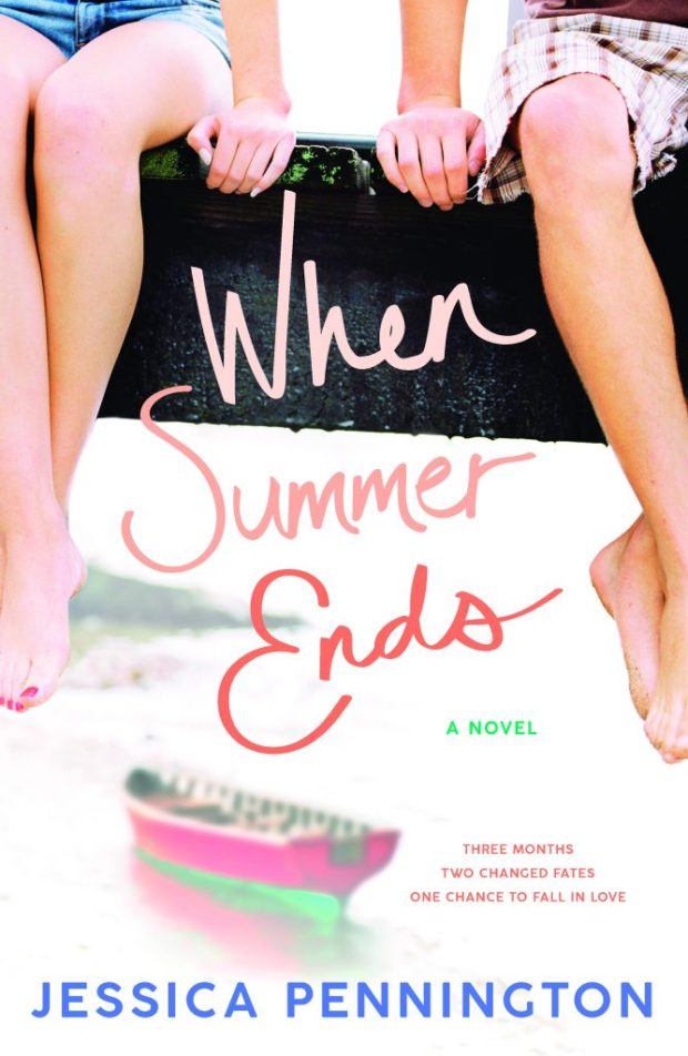 Book cover for When Summer Ends by Jessica Pennington
