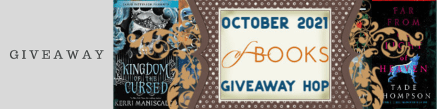 October 2021 New Release Book Giveaway