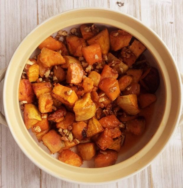 Sweet Potato Sriracha Maple