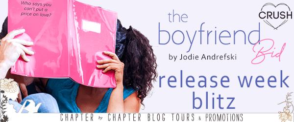 Book Blitz & Amazon Giveaway: The Boyfriend Bid