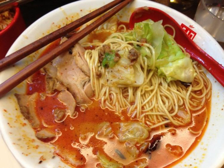 Butao Ramen Hong Kong Red King Ramen