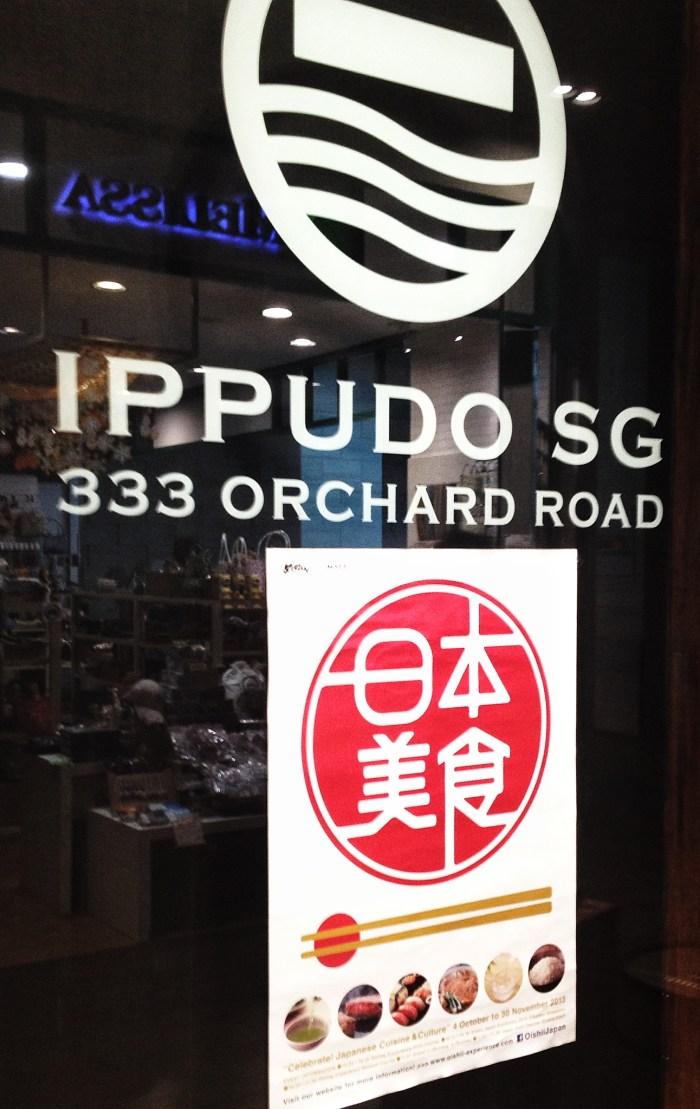 Ippudo Ramen Mandarin Gallery Singapore
