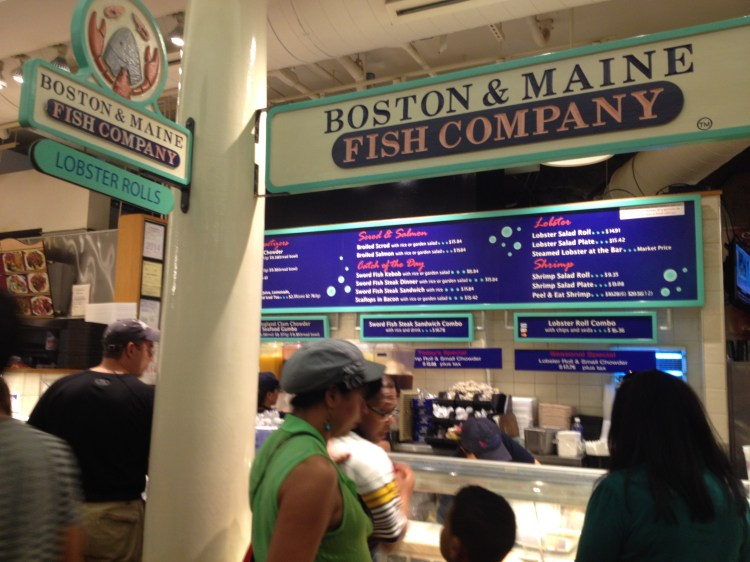 Faneuil hall quincy marketplace