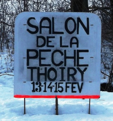 Thoiry Pêche Panneau