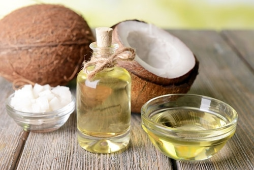 óleo de coco para candidíase