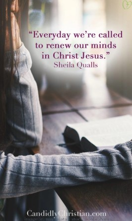 renew your self worth by renewing your mind in Jesus