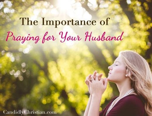 praying for your husband