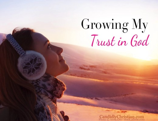 Growing my trust in God - when life was beyond my control