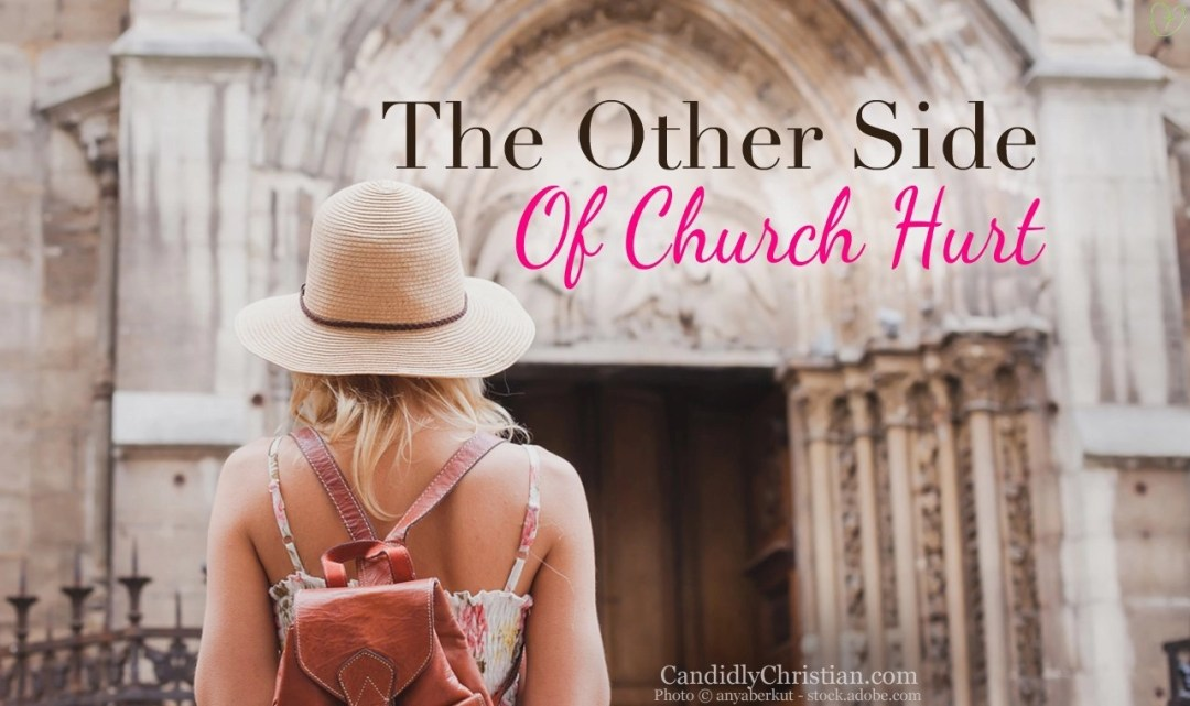 The other side of church hurt....