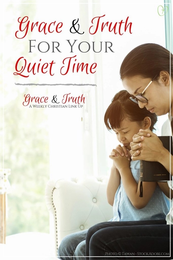Grace and Truth for your quiet time #GiveMeJesus