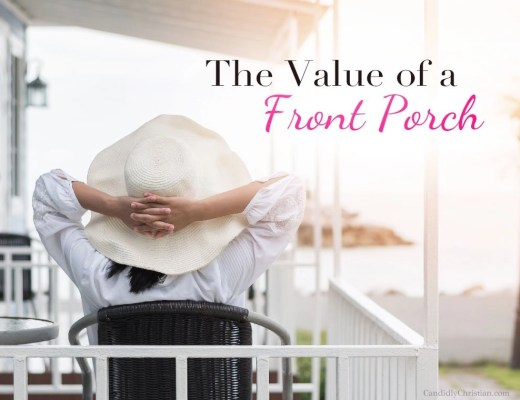 Love your neighbor (and the value of a front porch)