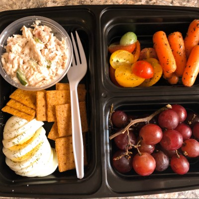 Tuna Salad Bento Lunch by Candidly Delicious