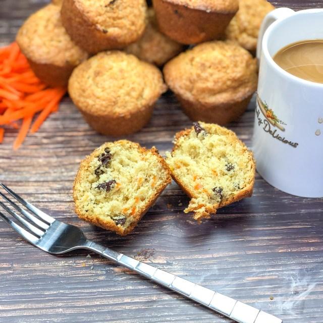 Carrot-Raisin Muffins