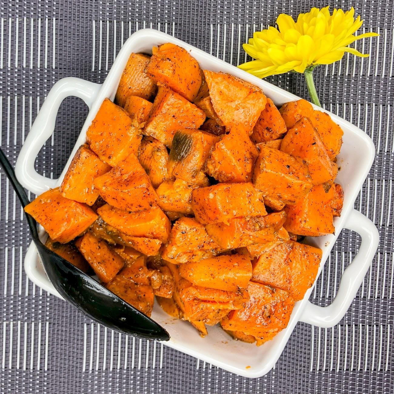 Smoky Sweet Potatoes