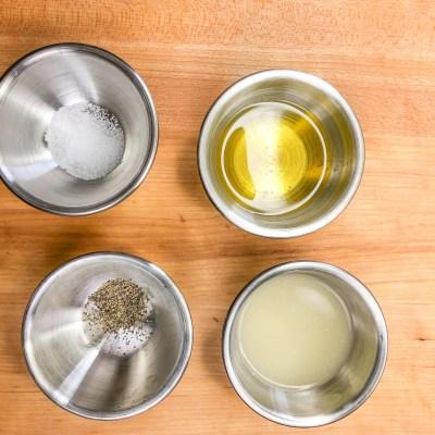 Lemon Dressing Ingredients