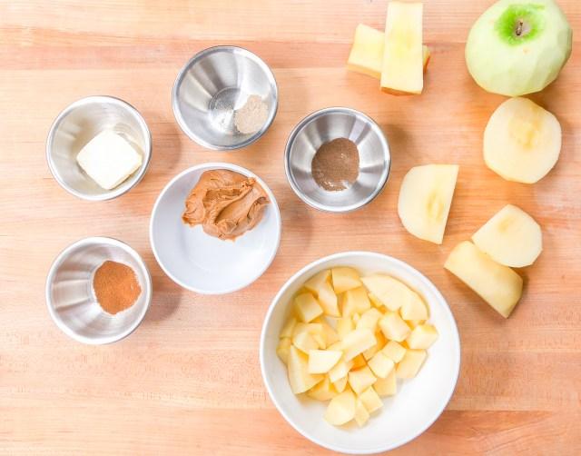 Apple Mixture Ingredients