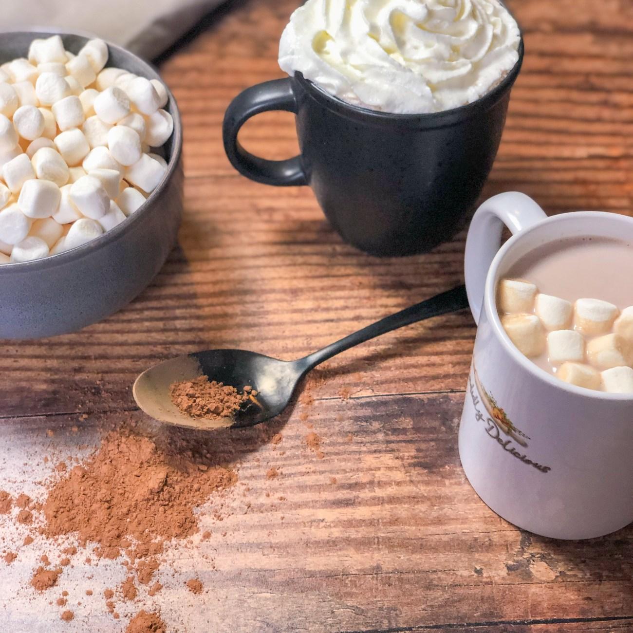 Creamy Decadent Homemade Hot Cocoa