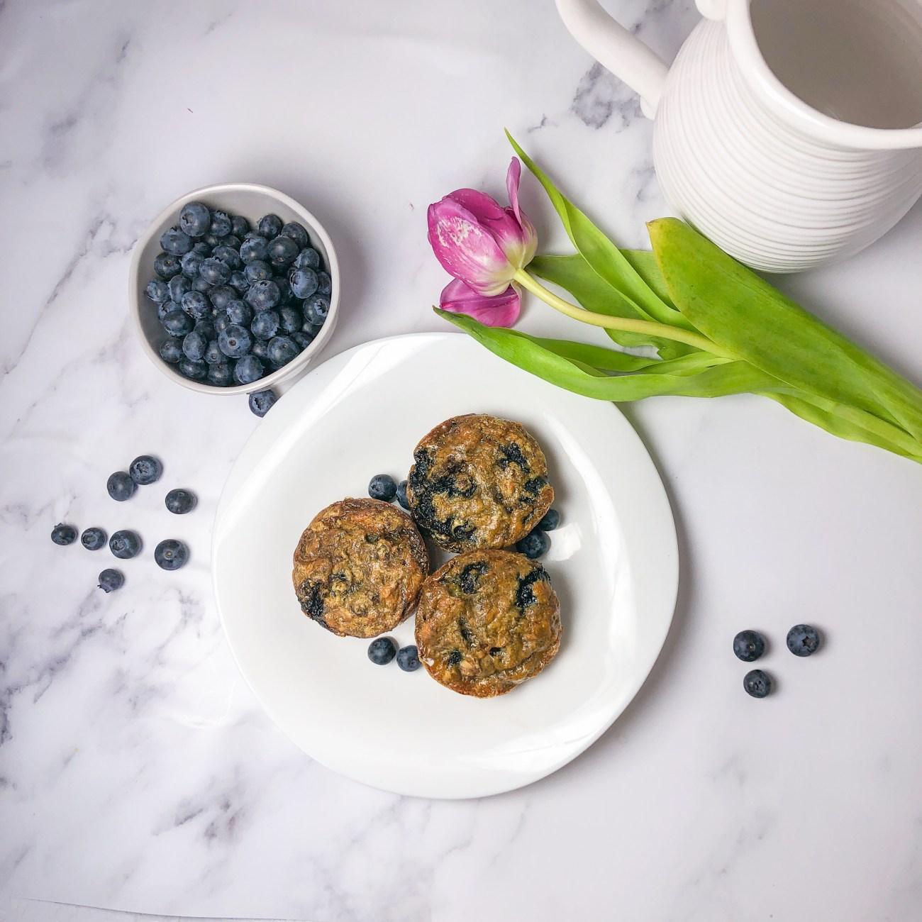 Blueberry Banana Muffins