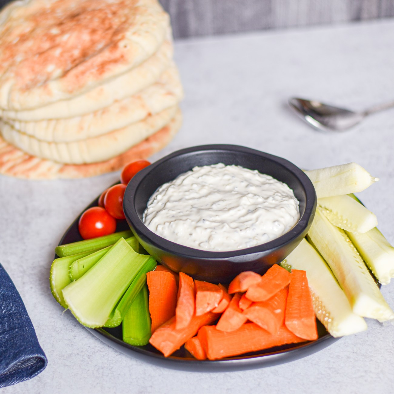 Overnight Onion Garlic Dip