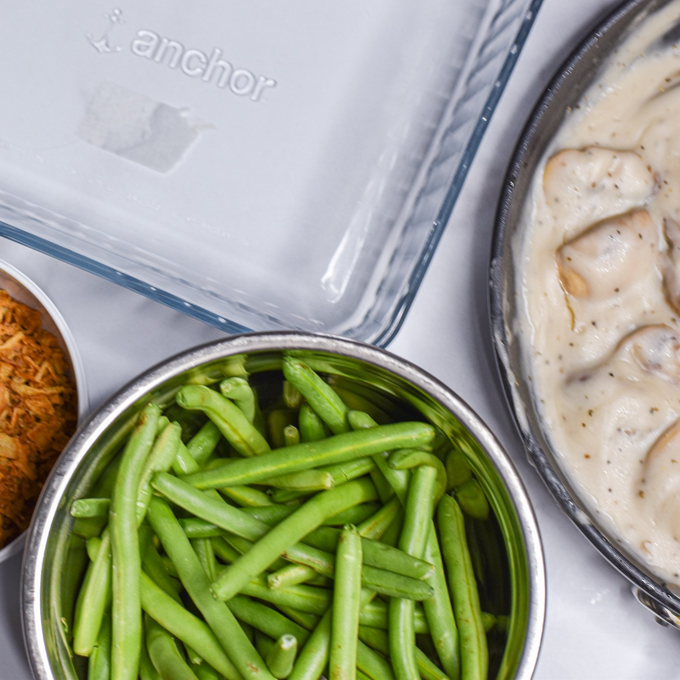 Dairy-free Green Bean Casserole by Candidly Delicious