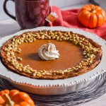 Paleo Pumpkin Pie by Candidly Delicious