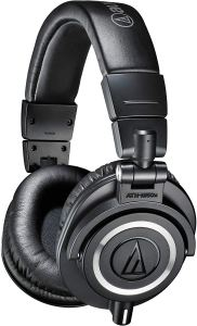 Best DJ Headphones By Audio-Technica ATH-M50x