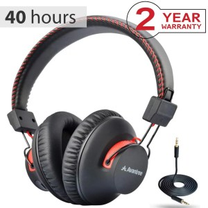 Best Bluetooth headphones under $50 Avantree 40 hr Wireless Wired Bluetooth Over Ear Headphones