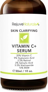 RejuveNaturals Vitamin C Serum For Acne