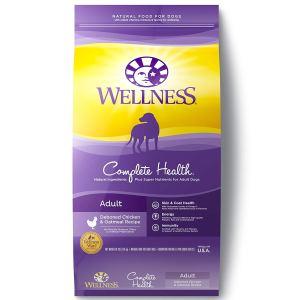 Best organic dog food Wellness Complete Health Natural Dry Dog Food