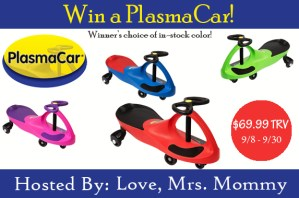 PlasmaCar Giveaway [Ends 9/30]