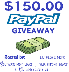 $150 PayPal Giveaway [Ends 9/30]
