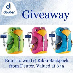 Deuter Kikki Backpack Giveaway [Ends 10/22]