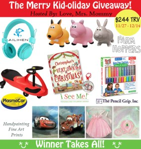 The Merry Kid-oliday Giveaway [Ends 12/14]