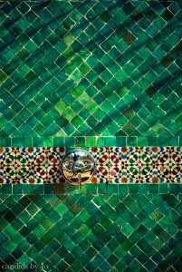 Within the medina fez marrakech candids by jo for Fez tiles
