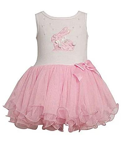 Bunny Tutu Toddler Dress. Dillards Easter