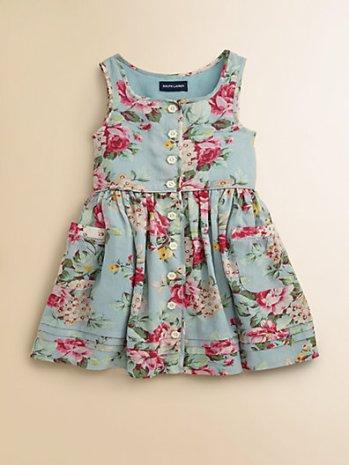 Ralph Lauren Toddler's (& Little Girl's) Floral Sundress. Saks Fifth Avenue