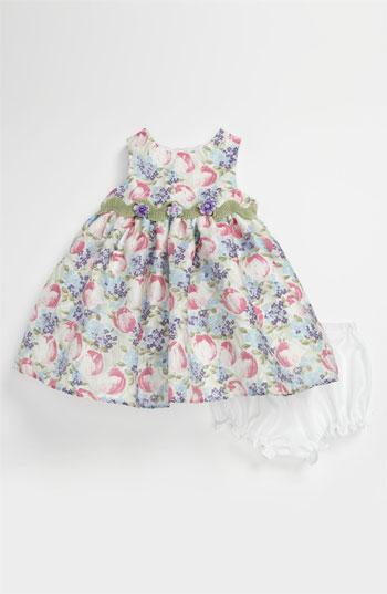 Pippa & Julie Burnout Tulip Dress & Bloomers (Infant) Easter
