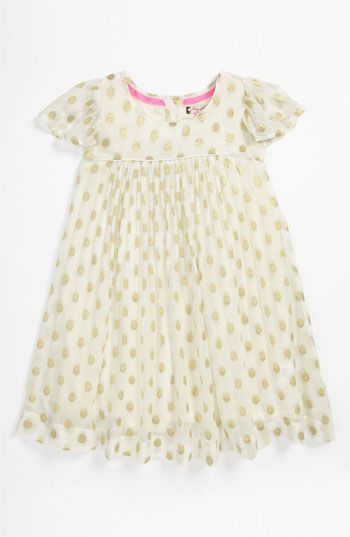 Ruby & Bloom 'Tabitha' Dress (Toddler) in Cream/Vanilla Gold. Nordstrom Easter